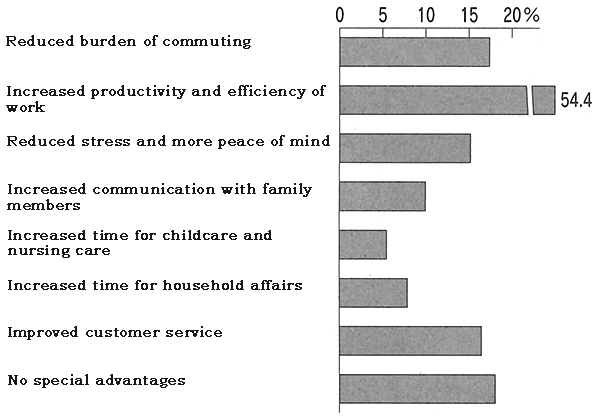 Figure: Advantages of Telework for Employees