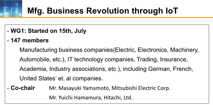 図3-6:Mfg. Business Revolution through IoT title=